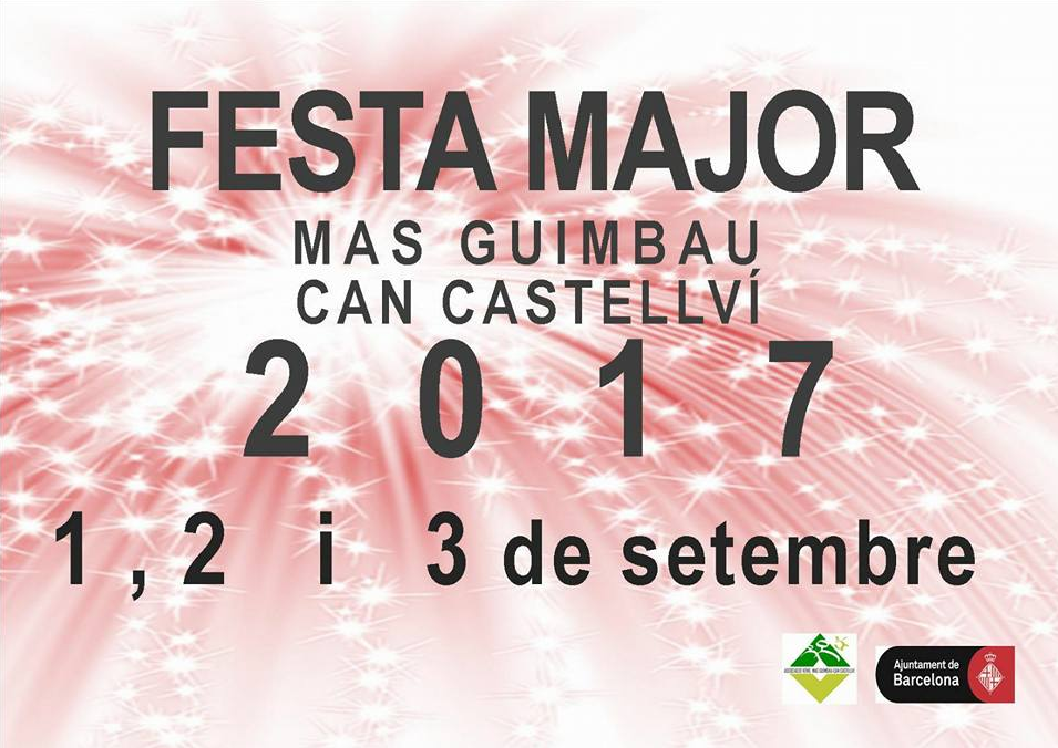 Fiesta Mayor Mas Guimbau Can Castellví 2017